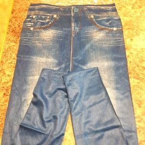 NEW❗Blue jeggings XL
